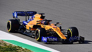 2019 Formula One tests Barcelona, Sainz (33417942148).jpg