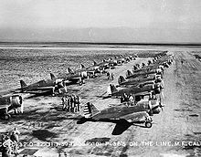 P-36A du 20th Pursuit Group à Moffet Field en 1939