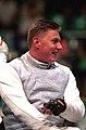 221000 - Wheelchair Fencing Michael Alston portrait 4 - 3b - Sydney 2000 photo.jpg