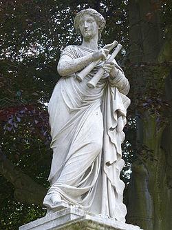 25.Euterpe auf Brunnenwand(1857)-Friedrich Ochs-Sanssouci-Mittlerer Lustgarten Steffen Heilfort