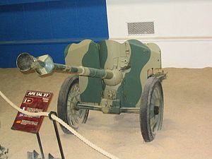25 mm Hotchkiss anti-tank gun - Mle 37.