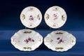 2 tallrikakr och 2 fat - Hallwylska museet - 87176.tif