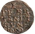 2 x 1 Pfennig, Landesdenkmalamt Berlin, Ausgrabung U5, 813 - 6005, Vorderseite.jpg