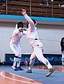 2nd Leonidas Pirgos Fencing Tournament. Lunge and touch for Christina Tremonti.jpg