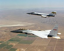 Formation of NASA F-104 and F-15