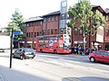 340 bus stopped on Stanmore Broadway - geograph.org.uk - 3151538.jpg