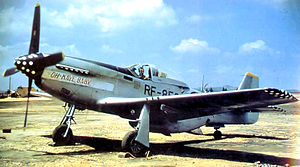 45th Reconnaissance Squadron - 45th TRS RF-51 Mustang, South Korea, 1950