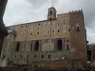 4702 - Roma - Fori - Tabularium - Foto Giovanni Dall'Orto - 18-Mar-2008.jpg