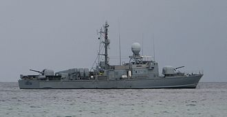 Tunisian Armed Forces - Giscon (510), a fast attack craft of the Tunisian Navy, photographed the 21st of October 2008
