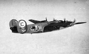 567th Strategic Missile Squadron - B-24D-80-CO Liberator 42-40619 567th Bomb Squadron, 389th Bomb Group, 8th Air Force. Lost on 24 February 1944 mission to Gotha,Germany. 3 KIA, 7 POW. Participated in the 1 August 1943 low-level Ploesti,Romania mission.