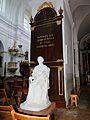 60816 - Interior of Holy Trinity church in Janów Podlaski - Statue of Bishop Adam Naruszewicz - 01.jpg