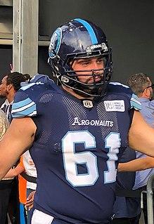 Sean McEwen Professional Canadian football offensive lineman