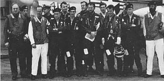 892 Naval Air Squadron - Personnel of 892 Squadron on the USS ''Saratoga'' in 1969.