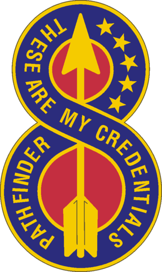 8th Infantry Division (United States) - Image: 8 Inf Div DUI