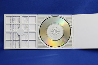 Mini CD single - Image: 8cm CD single jacket