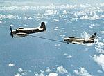 A-1H Skyraider VA-215 refueling VA-212 FJ-4B Fury in 1958.jpg