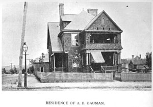 Baumann family (architects) - N. Fourth Ave. and Caswell St., Knoxville, ca. 1895
