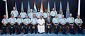 A. K. Antony during the Air Force Commanders' Conference in New Delhi on April 16, 2013. The Defence Secretary, Shri Shashi Kant Sharma and the Chief of Air Staff, Air Chief Marshal N.A.K. Browne are also seen.jpg