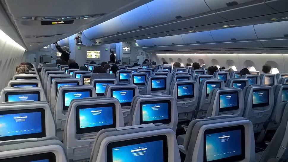 A350 cabin Finnair