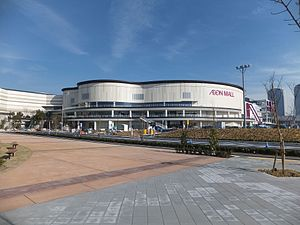 AEON Mall Makuhari-Shintoshin 'Grand Mall' under construction 20131201-2.jpg