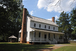 House in the Horseshoe - Image: ALSTON HOUSE, MOORE COUNTY