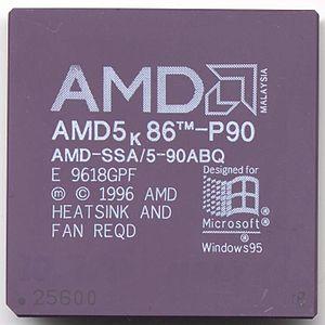AMD K5 - AMD 5K86-P90 (SSA/5)