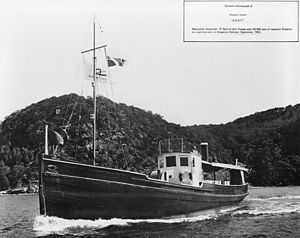 Operation Jaywick - The Krait, the vessel which carried the men of Z Special Unit on Operation Jaywick, the successful raid on Singapore Harbour on the night of 1943-09-26.