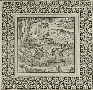 Geoffrey Whitney - An image from A Choice of Emblemes, 1586