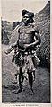 A Niam-Niam medicine man or shaman, equatorial Africa. Halft Wellcome V0015964.jpg