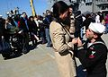 A Sailor proposes after returning from deployment. (8599730821).jpg