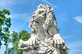 A close view of J. Lacmer's lion on tomb of General Robert Patterson, Laurel Hill Cemetery.jpg