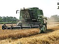 A combine harvester - geograph.org.uk - 896319.jpg