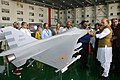 A model of Naval Tejas Mk2 during an exhibition by DRDO & HAL on September 19, 2019.jpg