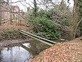 A pipe across a stream - geograph.org.uk - 1158075.jpg