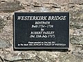 A plaque on Westerkirk Bridge - geograph.org.uk - 830086.jpg