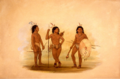A pulchee chief and two young warriors.PNG