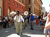 A street jazz band in Perugia.jpg