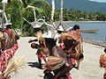 A welcome at a remote village near Lae for David (5501549357).jpg