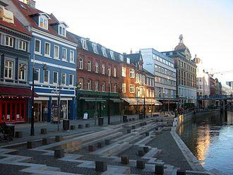 Indre By, Aarhus - Åboluevarden in Midtbyen