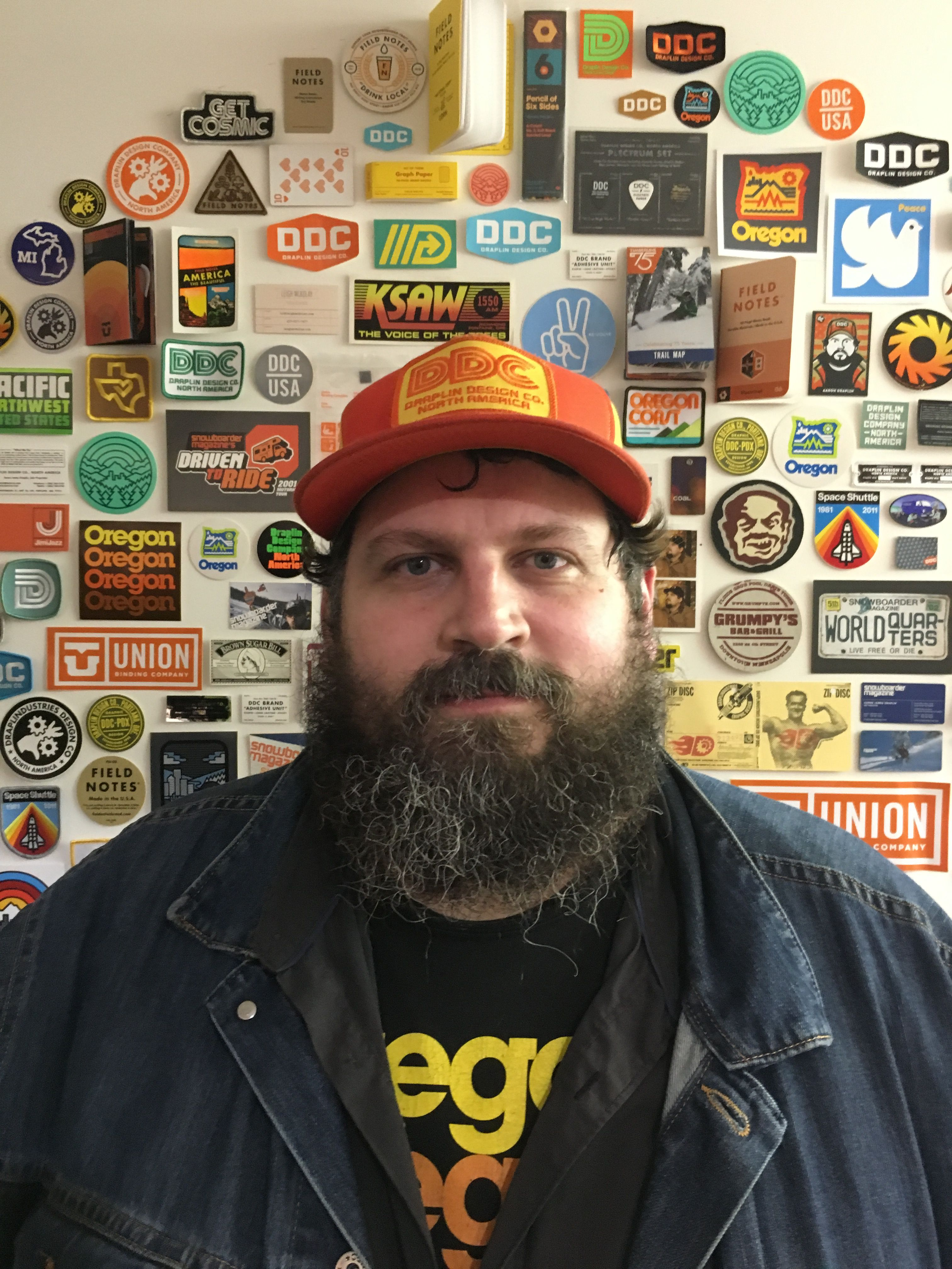 file aaron draplin in san francisco march 2016 jpg. Black Bedroom Furniture Sets. Home Design Ideas