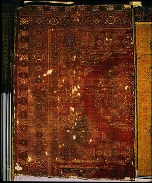 Arab carpet - Egyptian carpet made between 1468-1496 CE.