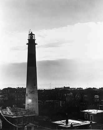 Absecon Lighthouse - Image: Abescon Light HABS Boucher