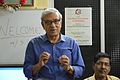 Abhoy Nath Ganguly Addresses - Opening Ceremony - PAD 4th Free Short Term Course on Photoshop - Kolkata 2017-03-04 5696.JPG