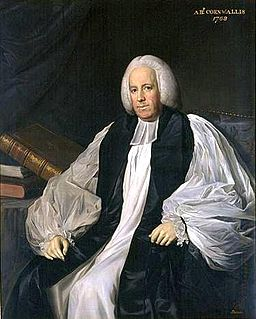 Frederick Cornwallis Archbishop of Canterbury
