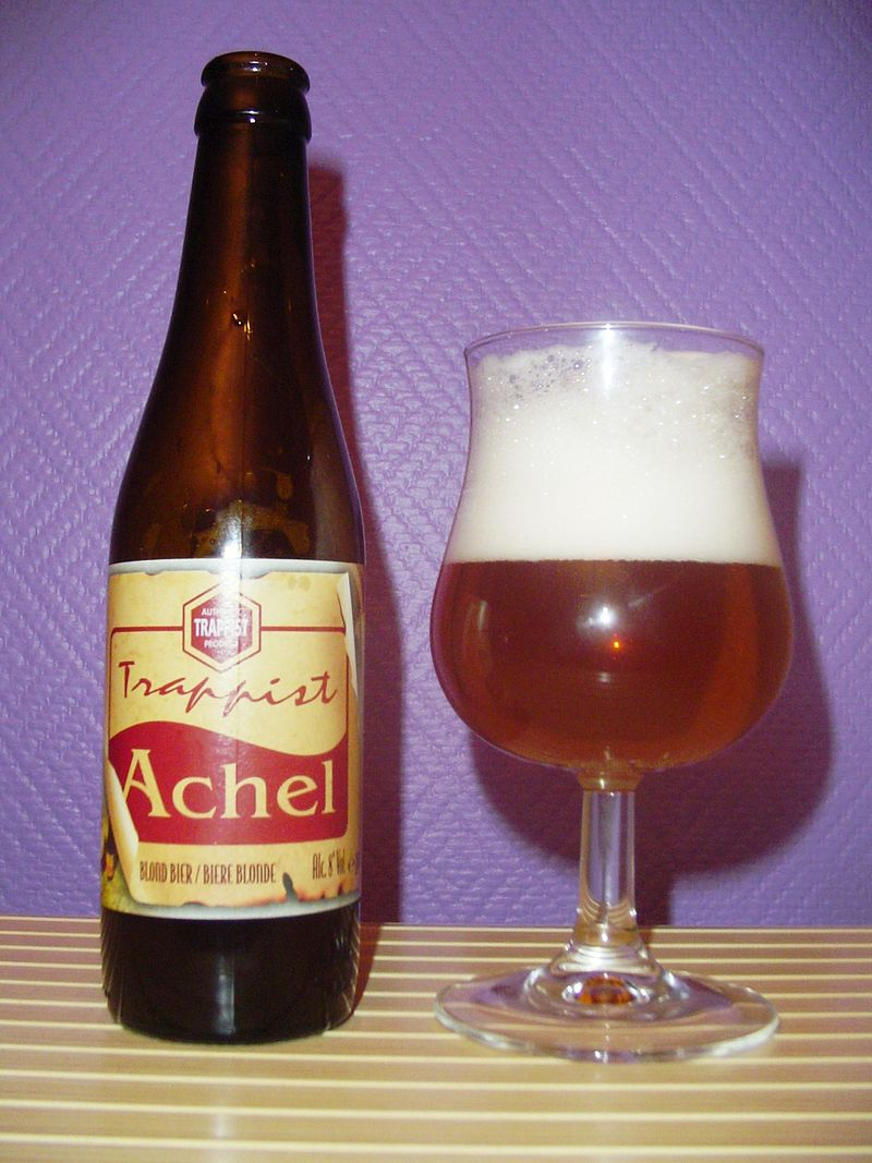 L018 Winterslag - Eindhoven (L18)  - Fietssnelweg Noord-Zuid-As 800px-Achel_beer_and_glass