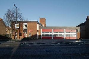Holgate, North Yorkshire - Fire Station on Boroughbridge Road