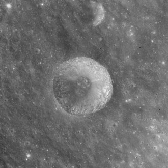 Acosta (crater) - Apollo 15 mapping camera image
