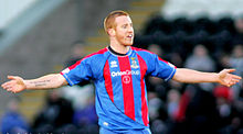 Rooney Playing For Inverness Caledonian Thistle In