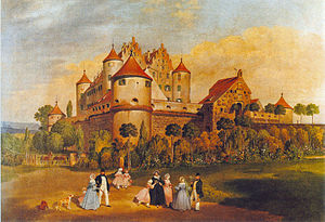 Erbach an der Donau - Erbach Castle 1844