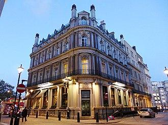 Admiralty, Trafalgar Square - Image: Admiralty, Trafalgar Square, WC2 (22893265296)
